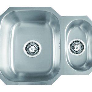 Undermounted Bowl & Half Sink