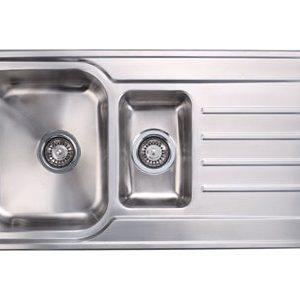 Stainless Steel Bowl & Half Sink drainer